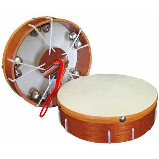 Handmade Junior Jingle Frame Drum - Jamtown (Peru)
