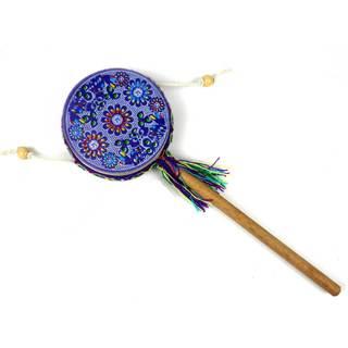 Handmade Damasas Music Spinner Drum - Jamtown (Peru)