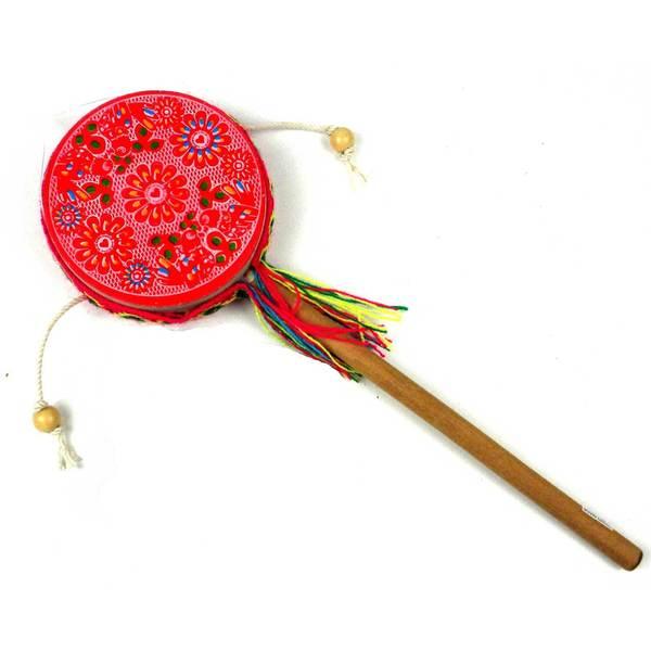 Handmade Damasas Love Spinner Drum - Jamtown (Peru)