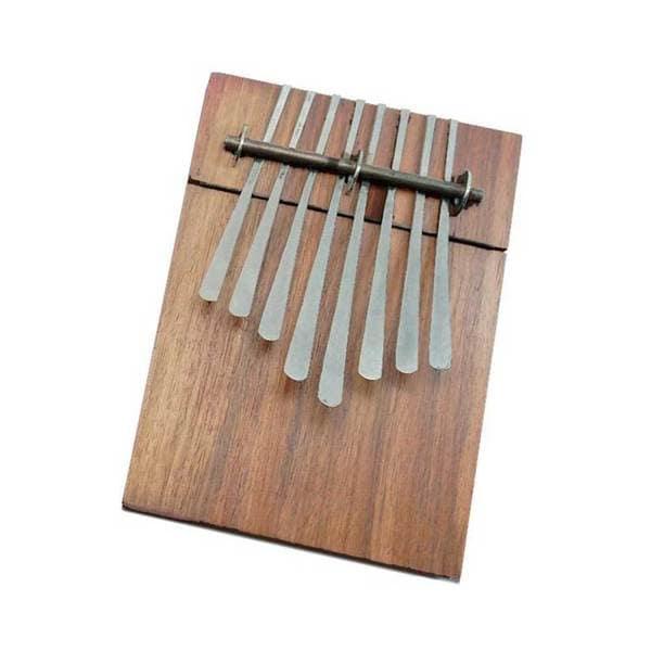 Handmade 8 Key Thumb Piano Musical Instrument - Jamtown (Zimbabwe)