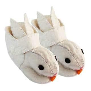 Handcrafted Felt Rabbit Zooties Toddler Booties (Kyrgyzstan) https://ak1.ostkcdn.com/images/products/14645713/P21184302.jpg?impolicy=medium