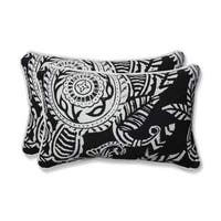 Pillow Perfect Outdoor/ Indoor Addie Night Rectangular Throw Pillow (Set of 2)