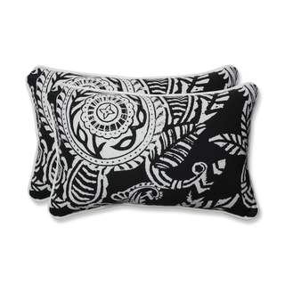 Pillow Perfect Outdoor/ Indoor Addie Night Rectangular Throw Pillow (Set of 2)