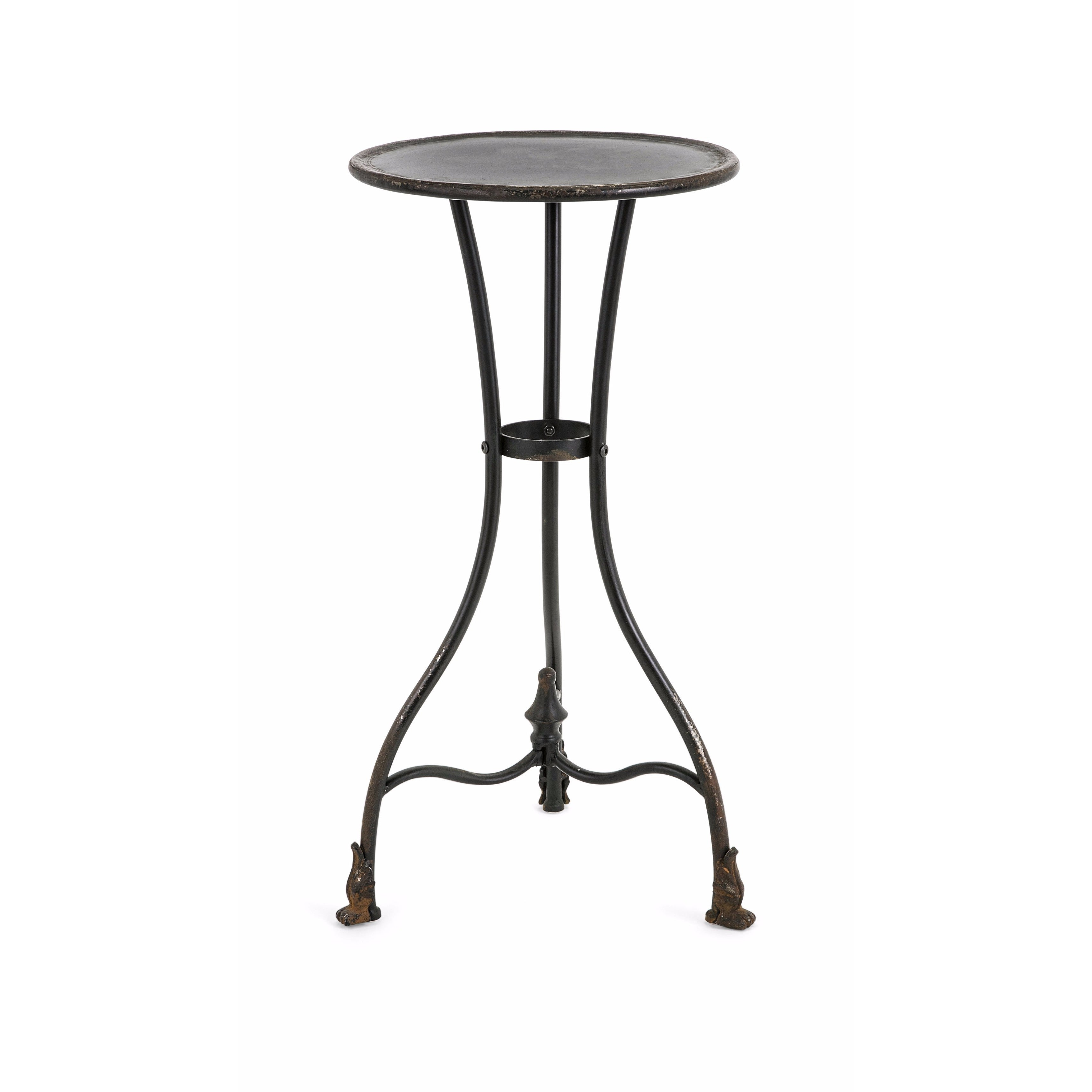 - Shop Cliffton Small Metal Accent Table - Overstock - 14645773