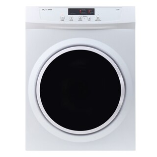 Equator Commercial-Grade White Super Washer and Compact Standard Dryer Set