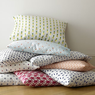 Poppy and Fritz Cotton Percale Printed Sheet Sets (As Is Item)
