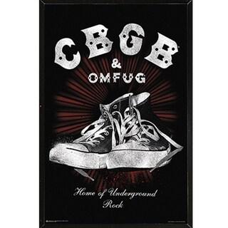 Yes Fragile Black Plaque/Woodmount Print