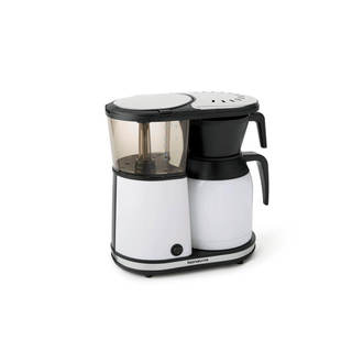 Bonavita BV1900TSWH 8-Cup Carafe Coffee Brewer, Stainless Steel-White
