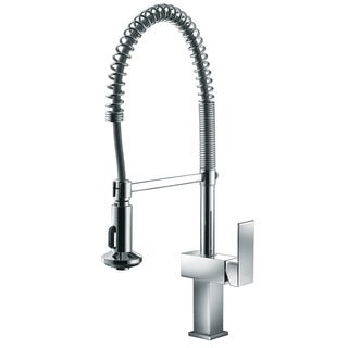 Dawn Chrome Single-lever Pull-out Spring Kitchen Faucet