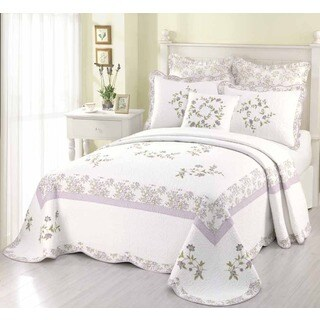 Peking Handicraft Kristen Multicolor Cotton Euro Sham (Quilt Not Included)