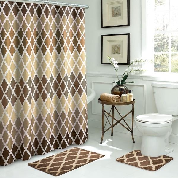 Gateway Lattice 15-piece Bathroom Shower Set