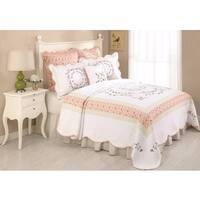 Peking Handicraft Claire Multicolor Cotton-blend Standard Sham
