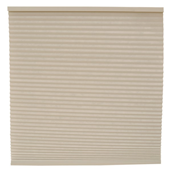 Keystone Fabrics Light Filtering Cordless Cellular Shade Flagstone 38.25 to 54 inch wide x 48 inch dr