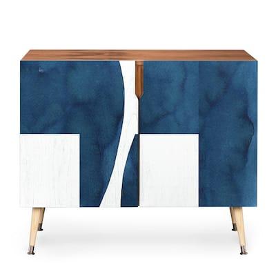 DENY Designs Elena Blanco Wooden Deconstruction Credenza