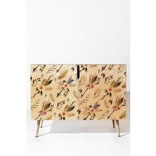 Marta Barragan Camarasa Bohemian Pattern Wood Credenza