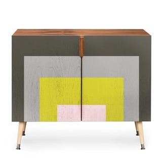 Deny Designs Caroline Okun Flint Multicolored Wood Credenza