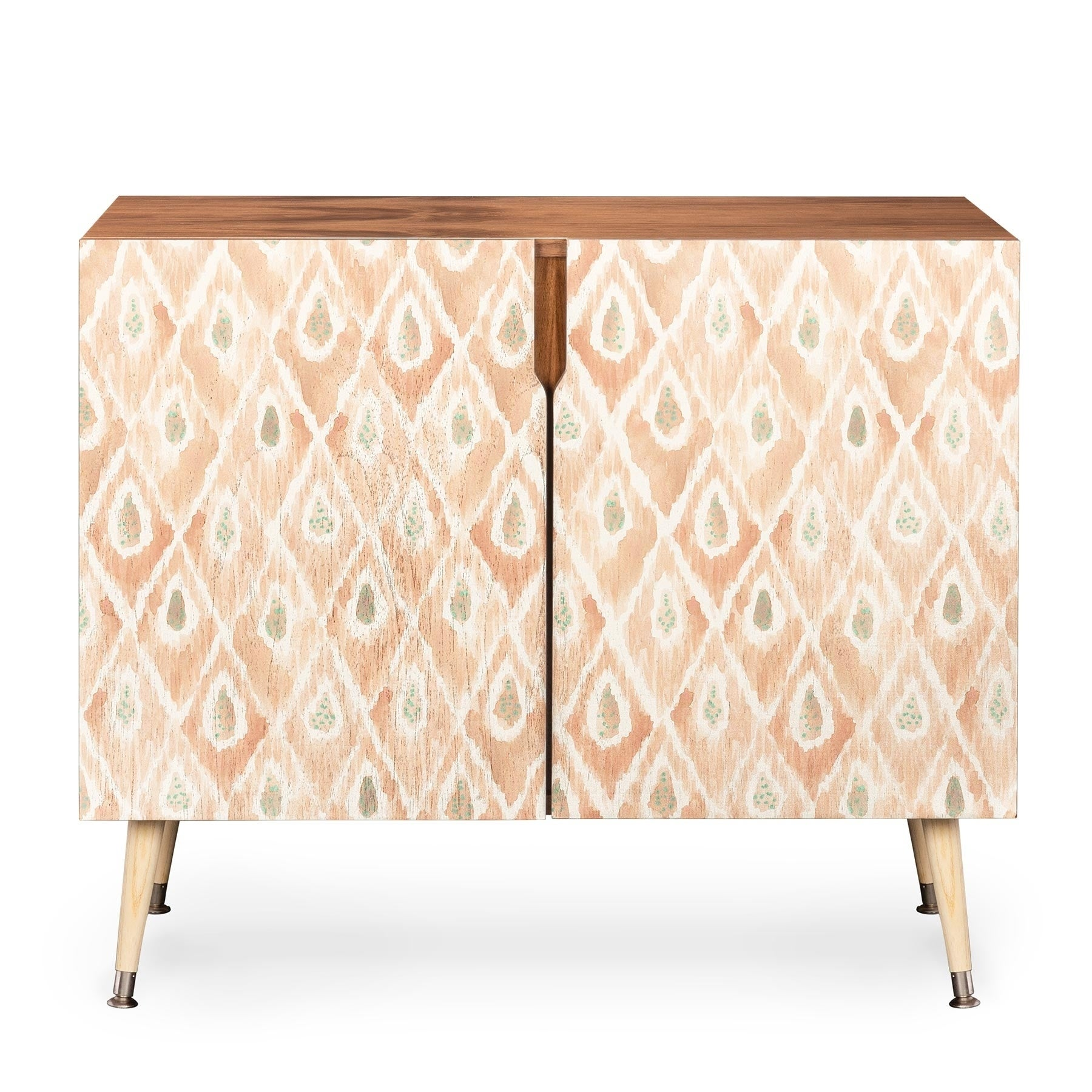 Dash and Ash Catch Me Wood Credenza (Peach)