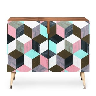 Dash and Ash The Run Away Baltic Birch Gloss-finished Credenza (Option: Pink)
