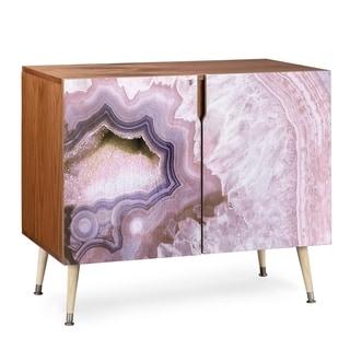 Emanuela Pale Pink Agate Wood Credenza