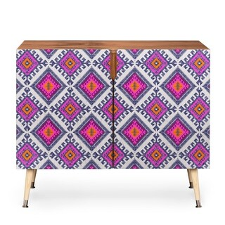Holli Zollinger Shakami Bright Credenza (Option: Pink)