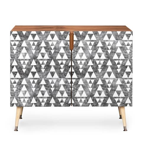 DENY Designs Holli Zollinger Wooden Stacked Credenza