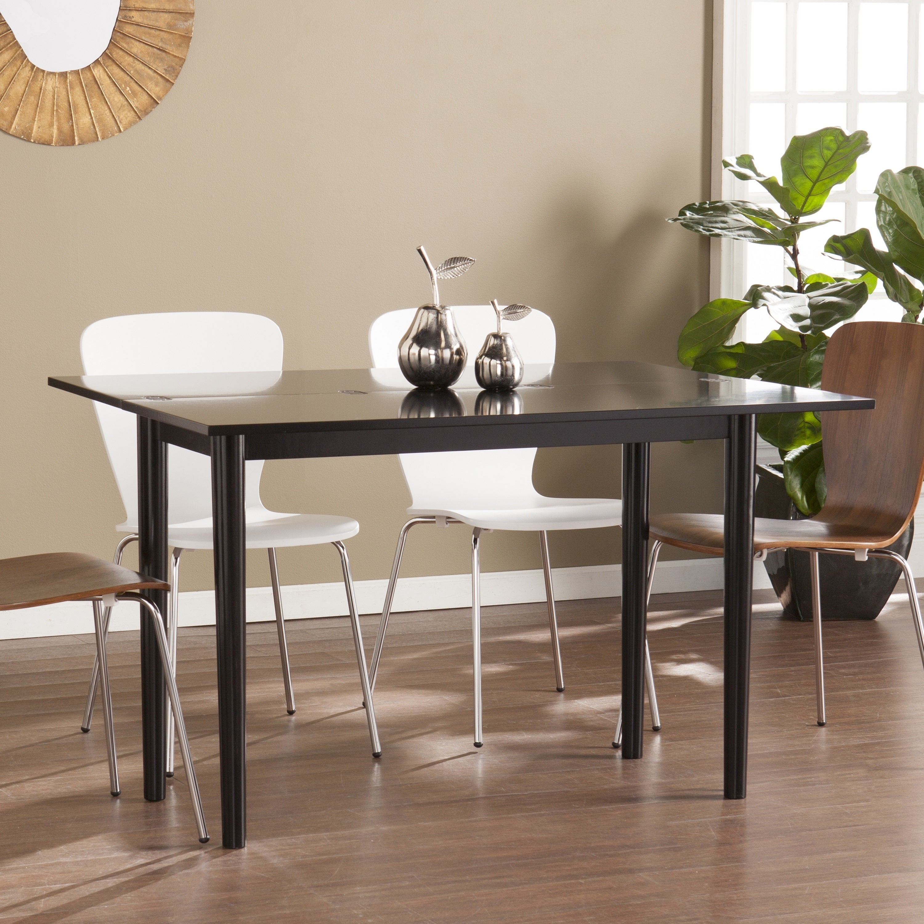 Harper Blvd Caddo Flip Top Convertible Console to Dining ...