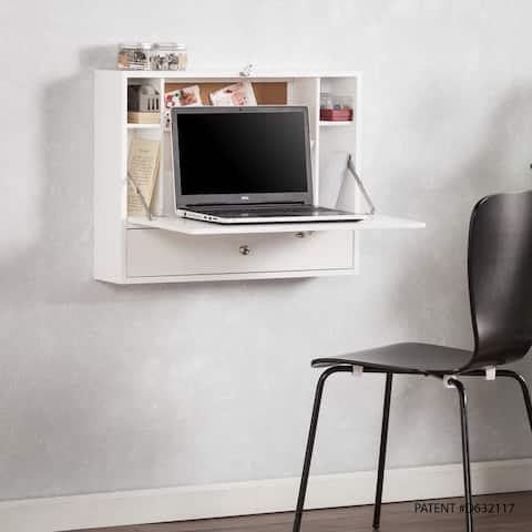Wall-mounted Folding Laptop Desk