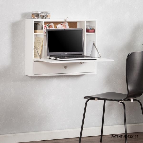 Wall-mounted Folding Laptop Desk. Opens flyout.