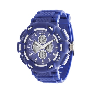 RBX Active Analog & Digital Rubber Watch - Navy