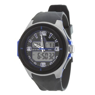 RBX Active Analog & Digital Multifunction Rubber Watch - Purple