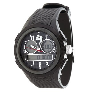 Analog Active Multifunction RBX Rubber Watch - Black