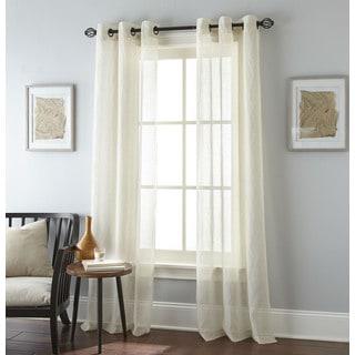 Nanshing Linden Grommet-top Curtain Panel Pair