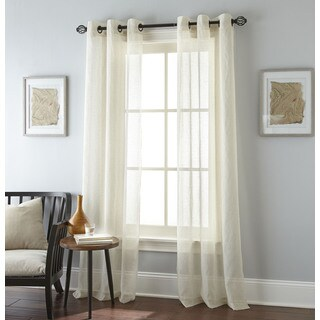 Nanshing Linden Grommet-top Curtain Panel Pair