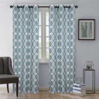 Nanshing Magnus Grommet-Top Curtain Panel Pair|https://ak1.ostkcdn.com/images/products/14646747/P21185174.jpg?impolicy=medium