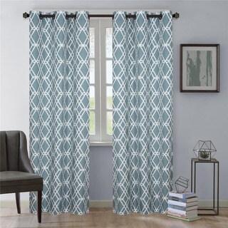 Nanshing Magnus Grommet-Top Curtain Panel Pair