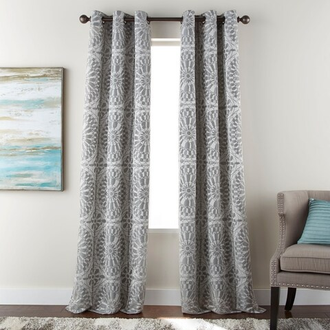 Nanshing Viona Grommet-Top Curtain Panel Pair