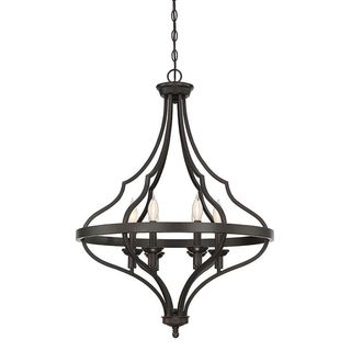 Sheilds 6-Light English Bronze Foyer