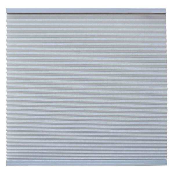 Keystone Fabrics Light Filtering Cordless Cellular Shade Steel Grey 38.25 to 54 inch wide x 72 inch d