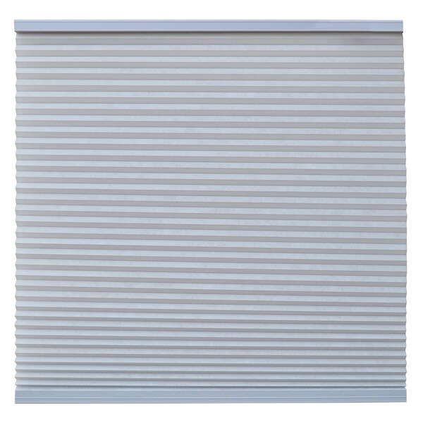 Keystone Fabrics Light Filtering Cordless Celluar Shade Steel Grey 54.25 to 72 inch wide x 72 inch drop