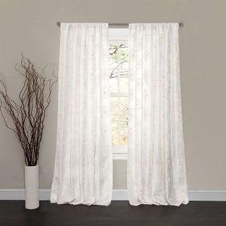Lush Decor Rosina Window Curtain Panel Free Shipping On