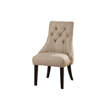 Tufted Sand Accent Chair