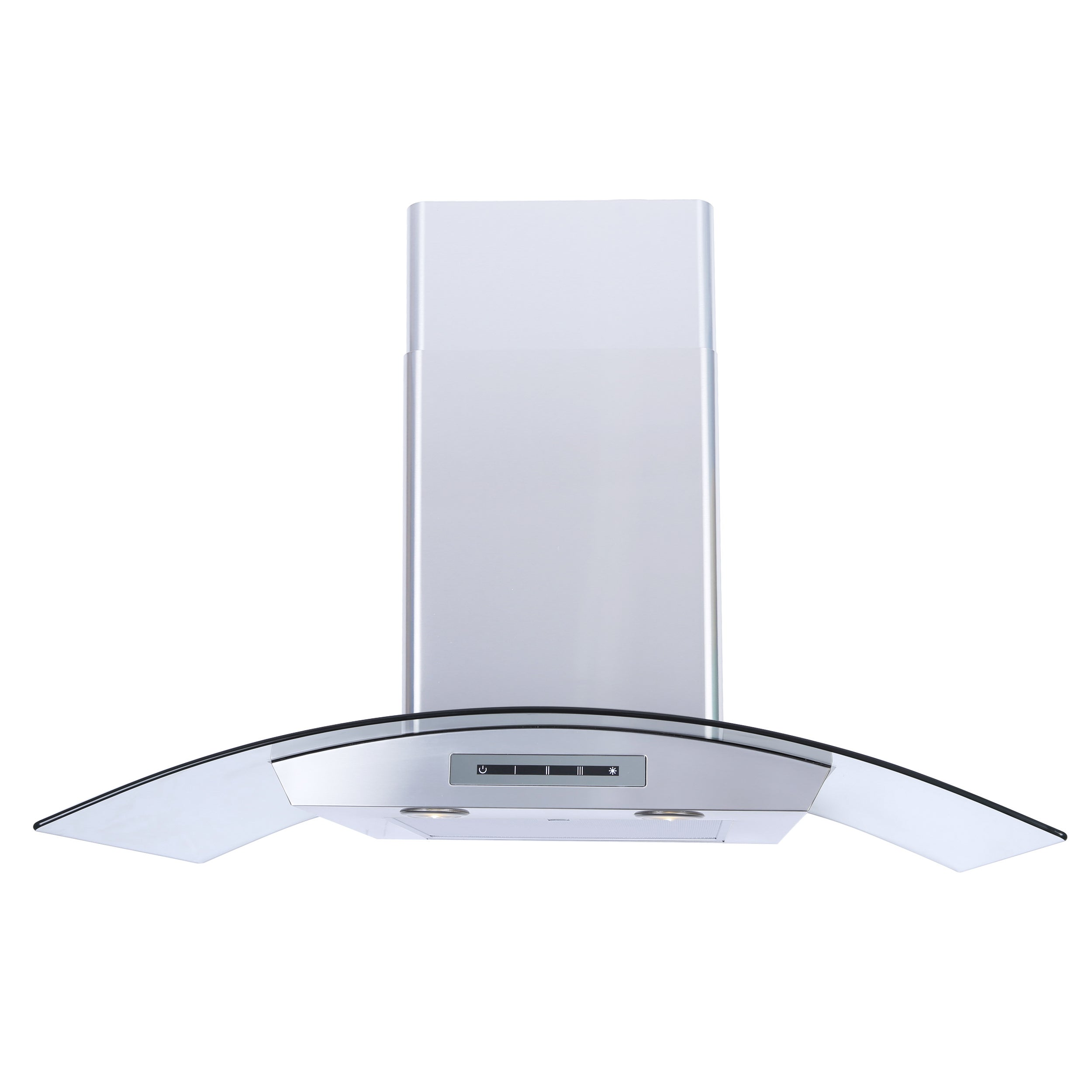 Windster WS-62N Series Wall Mount Tempered Glass Canopy R...