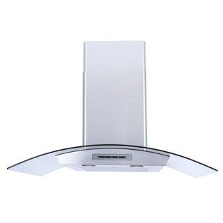 Windster WS-62N Series Wall Mount Tempered Glass Canopy Range Hood