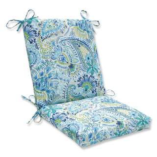 Pillow Perfect Outdoor/ Indoor Gilford Baltic Squared Corners Chair Cushion