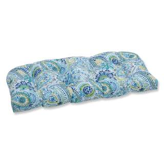 Pillow Perfect Outdoor/ Indoor Gilford Baltic Wicker Loveseat Cushion