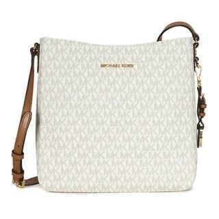 Link to MIchael Kors Jet Set Travel Vanilla Large Logo Crossbody Handbag Similar Items in Shop By Style