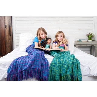 Shimmertail Collection Mermaid Blanket