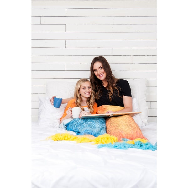 Shimmertail Sirenatail Collection Mermaid Blanket
