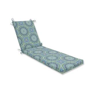 Pillow Perfect Outdoor/ Indoor Delancey Lagoon Chaise Lounge Cushion