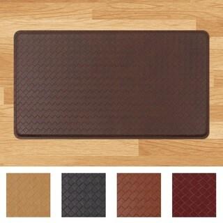 GelPro Classic Basketweave Anti-fatigue 20 x 36-inch Kitchen Mat